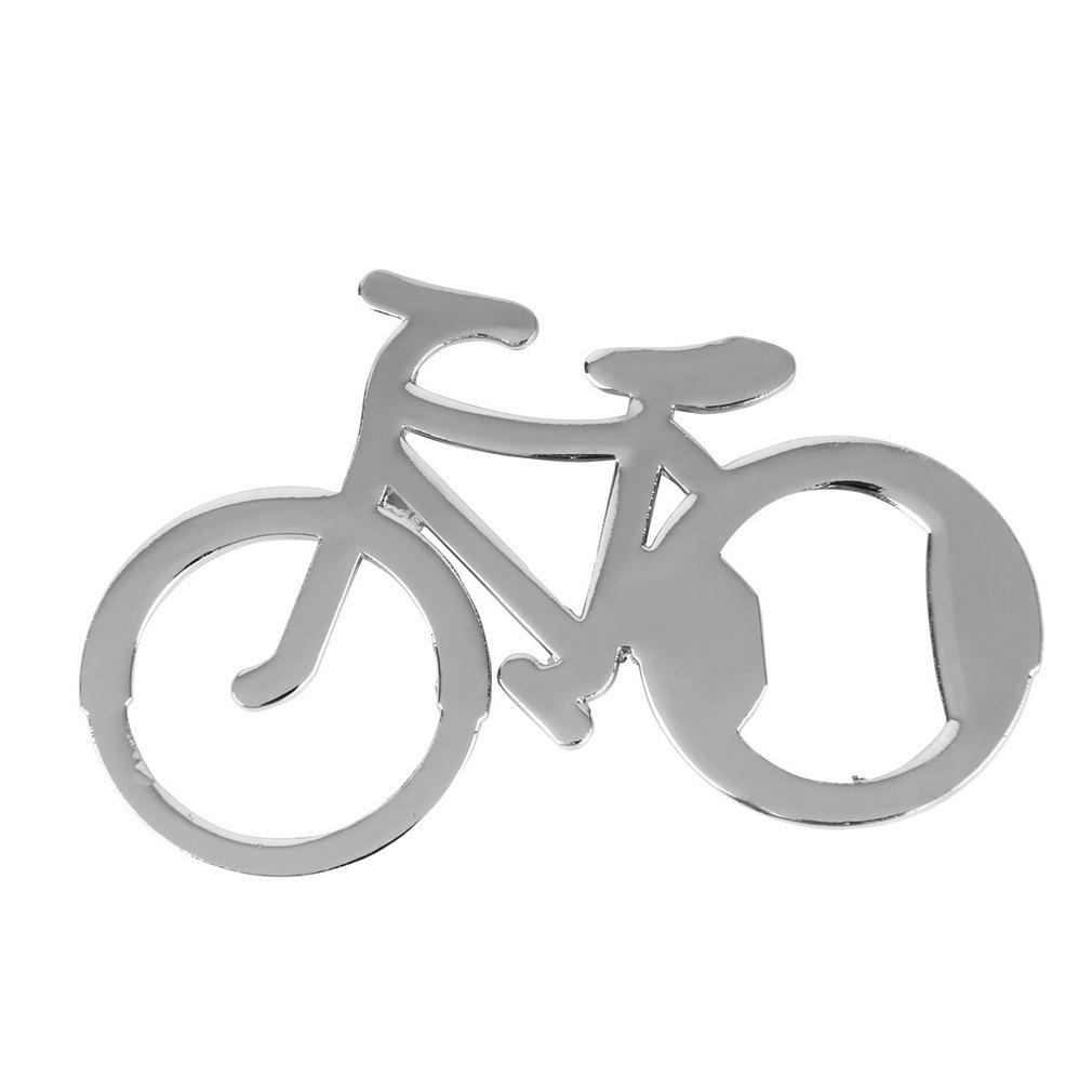 2PCS Cute Bike Bicycle Metal Beer Bottle Opener keychain key rings for bike love