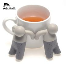 Creative Silicone Small Person Tea Filter Perco... - $10.48