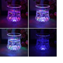 1Pc Beer Cup LED 2 Inductive Rainbow Color Flashing Light Glow Mug Drink... - $11.95