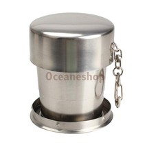 Stainless Steel Stretchable Cup Drinking Magic Mugs Goblet for Outdoor - $11.99