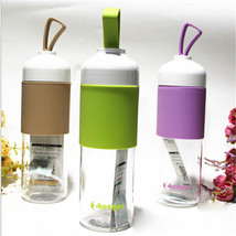 Healthy Travel Tea Cup Portable Sport Travel Water Bottle 550ml Travel M... - $12.06