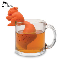 Creative Lazy Squirrel Tail Food Grade Silicone... - $12.38