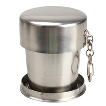 D1U# Stainless Steel Stretchable Cup Drinking Magic Mugs Goblet for Outd... - $12.85