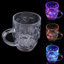 4 Color Changing LED Water Inductive Wine Beer Cup Mugs 295ml/10 oz hv5n - $13.44