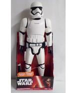"""2015 Star Wars First Order Stormtrooper 18"""" Jakks Big Figs NEW In box - $27.69"""