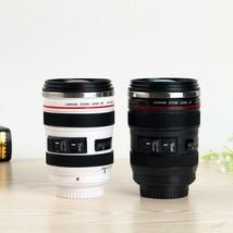 Camera Lens Shape Cup Coffee Tea Travel Mug Stainless Steel Vacuum Flasks - $16.13