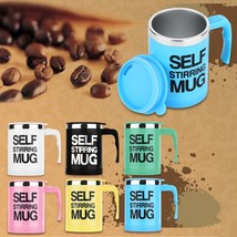 400ml Automatic Auto Electric Lazy Self Stirring Mug Coffee Mixing Drink... - $16.13