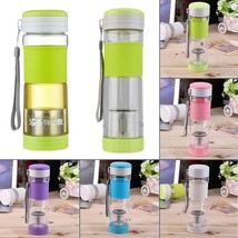 Healthy Portable Travel Sport Tea Water Seal Bottle 550ml Travel Mug Wit... - $16.12