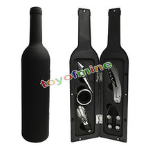 5Pcs Wine Bottle Corkscrew  Accessory Set Wine Tool Set Novelty Bottle-S... - $24.21
