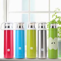 500mL Travel Mug Office Tea Coffee Water Cup Bottle Stainless Steel Insu... - $28.16