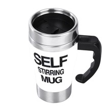 Personality Stainless steel coffee self stirring mug/keep warm mugs auto... - $28.82