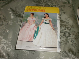 McCall's Costumes P310  sz 12-14-16-18 Southern Belle dress uncut Pattern - $34.95