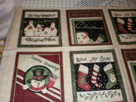 Linda Spivey Penny Lane Publishing David Textiles 8 Blocks Christmas OOP & HTF - $19.95