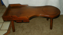 Pine Cobbler's Coffee Table with Push / Pull Drawer  (JLC-CT15) - $386.03