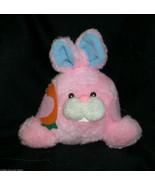 12.7cm Vintage Dan Dee Pink Ostern Bobby Hase Ball Plüschtier Spielzeug - $21.87