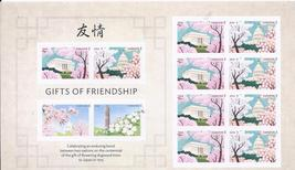DAY OF FRIENDSHIP 2015 S/SHEET - USA MINT 12 FOREVER Stamps - $9.95