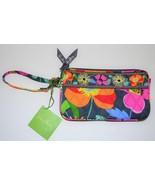 NEW VERA BRADLEY Wristlet in Jazzy Blooms Flora... - $29.99