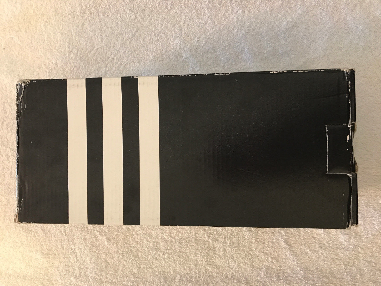 34df56a7658f41 Adidas Duramo G15892 Mens Navy White Slides Flip Flops Sandals Size 9