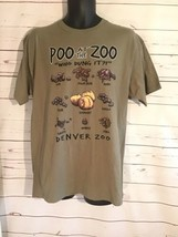 Graphic T shirt from the Denver Zoo Animal Poo at The Zoo size  medium  - $16.00