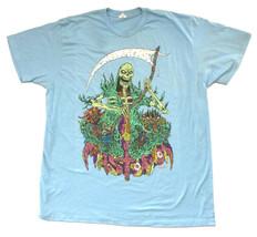 Mastodon-Grim Reaper-Large Light Blue T-shirt - $21.28