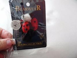 Bearwear Teedle Wuzie Boyds Pin Lady Bug - $18.99