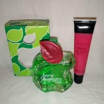 FANTASIES APPLE BY ARABELA COLOGNE JUVENILE FRAGRANCE & Lip Gloss Pink (... - $17.90