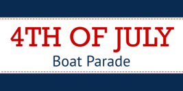 HAPPY 4th July Independence Boat SALE Banner with Hem & Metal Grommets 16 Oz  - $25.63+