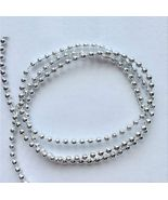 Doll House Shoppe Silver Bead Garland dhs4818 Christmas approx 36 in. Mi... - $3.30
