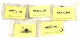 LOT OF 5 NEW REXROTH P7673-0291 PNEUMATIC LUBRICATOR PLUG REPAIR KITS P76730291