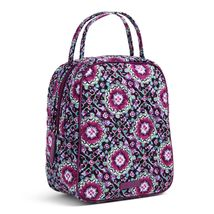 Vera Bradley Quilted Signature Cotton Lunch Bunch Bag, Lilac Medallion