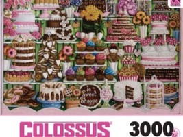 Sure-Lox Le Sweet Shoppe Jigsaw Puzzle~3000 Piece Puzzle Candy Store NEW... - $39.99