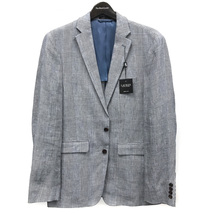 Polo Ralph Lauren Men's Slim Fit Linen Glen Plaid Sport Coat Blazer MSRP $250 - $79.95
