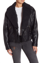 Free People Womens OB672716 Jacket Relaxed Black Size XS - $86.23