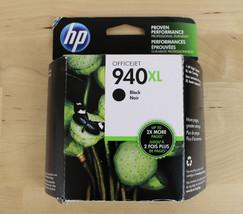 New Genuine HP 940XL OfficeJet Black Printer Ink Cartridge C4906AN Exp J... - $24.74
