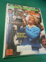 SPORTS ILLUSTRATED June 18,1984 ...IN ZONE-Martina in Paris.....FREE POS... - $8.50