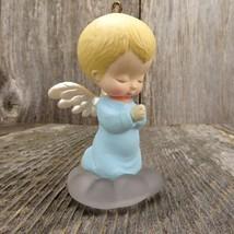 Vintage Mary's Angels Bluebell Ornament 1989 Hallmark Keepsake Christmas... - $80.00