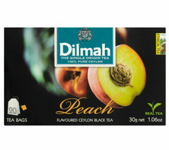 Dilmah pure black tea for Fisheries of Ceylon in bags free shipping - $5.81