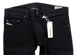 Diesel Men's Designer Stretch Denim Regular Skinny Leg Jeans Thavar 0886Z image 6