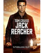 JACK REACHER DVD - SINGLE DISC EDITION - NEW UNOPENED - TOM CRUISE - $10.99