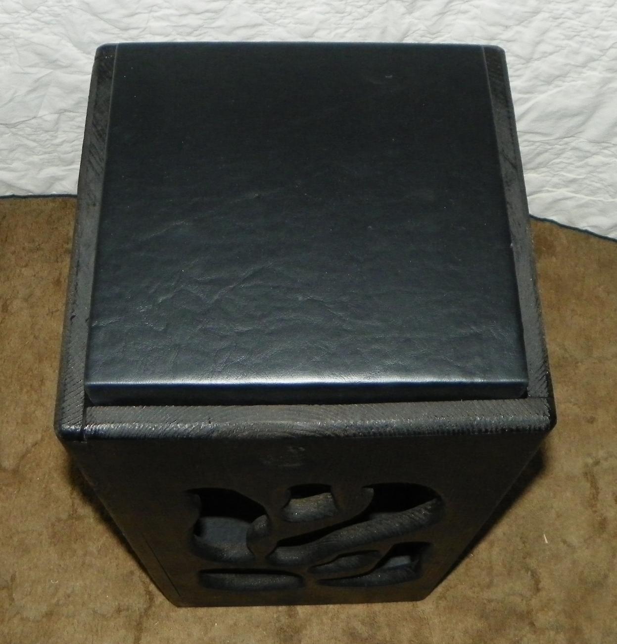 Pine & Vinyl 2 Tier Plant Stand  (JLC-PS22)