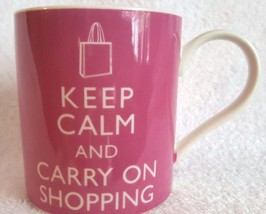 Keep Calm & Carry On Shipping Kent Pottery Coff... - $9.94