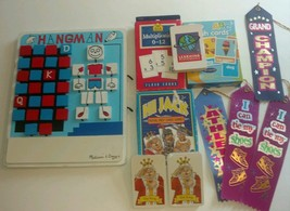 Big Homeschool Lot Hangman Flashcards Award Rib... - $21.49