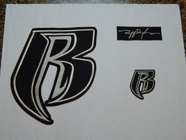 Ruff Ryders Cordura Applique / Patch Set of 3 - FREE Shipping - $39.99