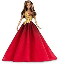 Barbie 2016 Holiday Doll Glamorous Tradition Re... - $52.09