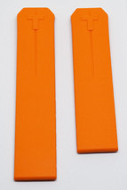 Original Tissot T-Touch Orange Rubber Strap Watch Band for Z252/352 or Z... - $79.46