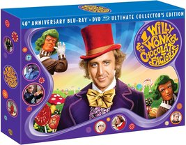 Willy Wonka & the Chocolate Factory (40th Anniversary LIMITED Blu-ray/DVD Combo) image 3