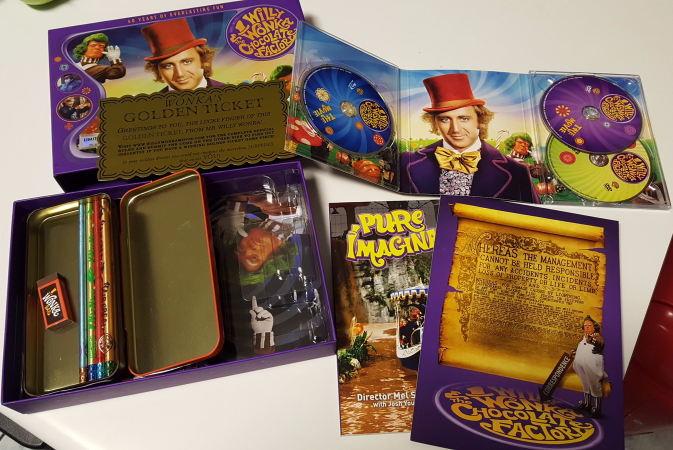 Willy Wonka & the Chocolate Factory (40th Anniversary LIMITED Blu-ray/DVD Combo)