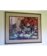 """Framed and Matted Ltd Edition  Print by Richard Schmid , """"Memories"""" - $425.00"""