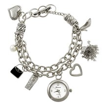 Geneva Platinum JB12792812 Toggle Charm Plus Size - SILVER - $24.99