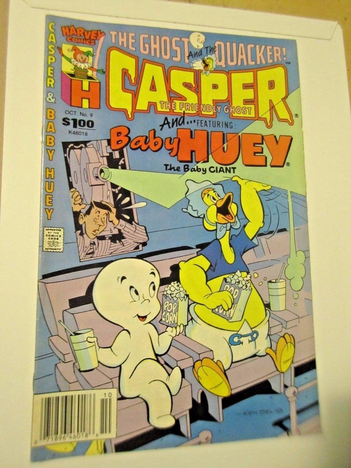 Vintage Comic Book Lot - Casper, Hot Stuff, and Richie Rich